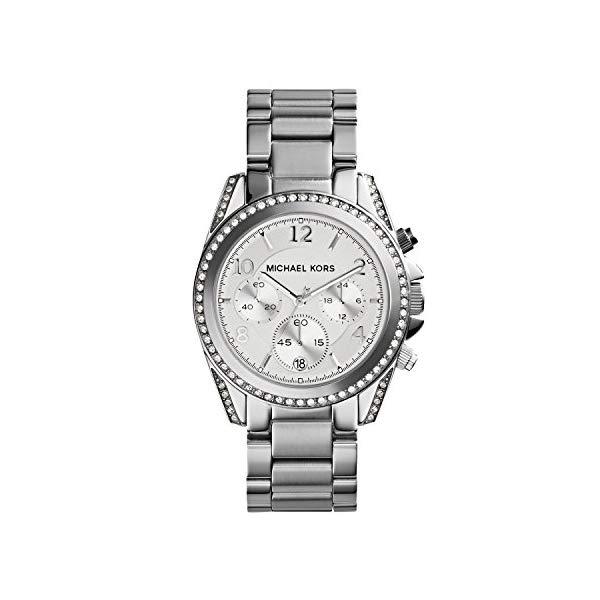 マイケルコース 時計 ウォッチ 腕時計 レディース 女性用 MK5165 Michael Kors Women's Blair Silver-Tone Watch MK5165