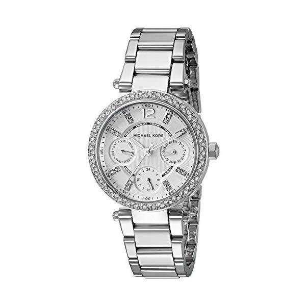 マイケルコース 時計 ウォッチ 腕時計 レディース 女性用 Michael Kors Women's Silvertone Mini Parker Watch