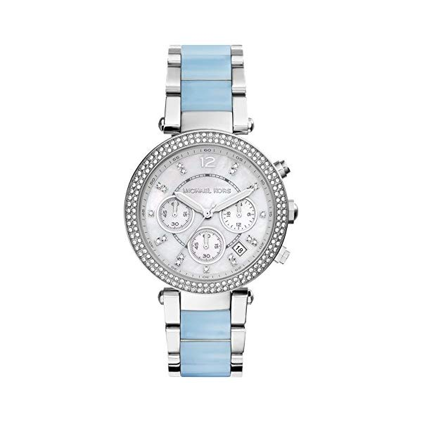 マイケルコース 時計 ウォッチ 腕時計 MK6138 Michael Kors Parker Silver Dial Two-Tone SS Multi Quartz Ladies Watch MK6138