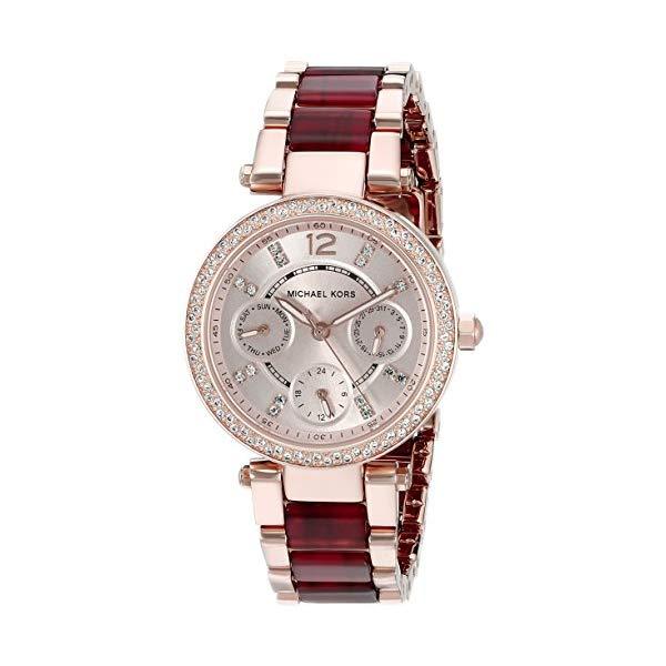 """マイケルコース 時計 ウォッチ 腕時計 レディース 女性用 MK6239Michael Kors Women""""s Mini Parker Two-Tone Watch MK6239"""