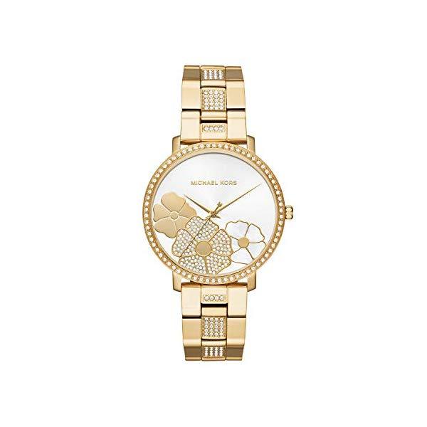 マイケルコース 時計 ウォッチ 腕時計 レディース 女性用 MK3865 Michael Kors Women's Jaryn Gold Tone Satinless Steel Watch MK3865
