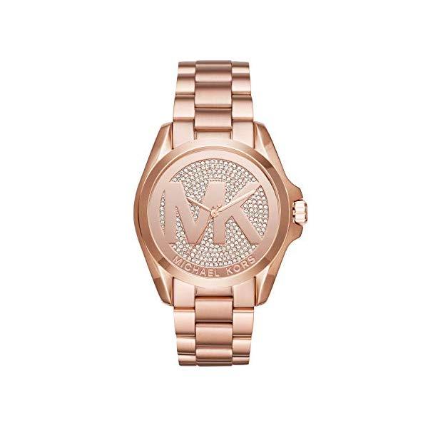 マイケルコース 時計 ウォッチ 腕時計 レディース 女性用 MK6437 Michael Kors Women's Bradshaw Rose Gold Tone Stainless Steel Watch MK6437