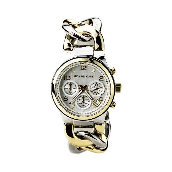 マイケルコース 時計 ウォッチ 腕時計 Michael Kors Watches Runway Twist Watch (Two Tone Gold)