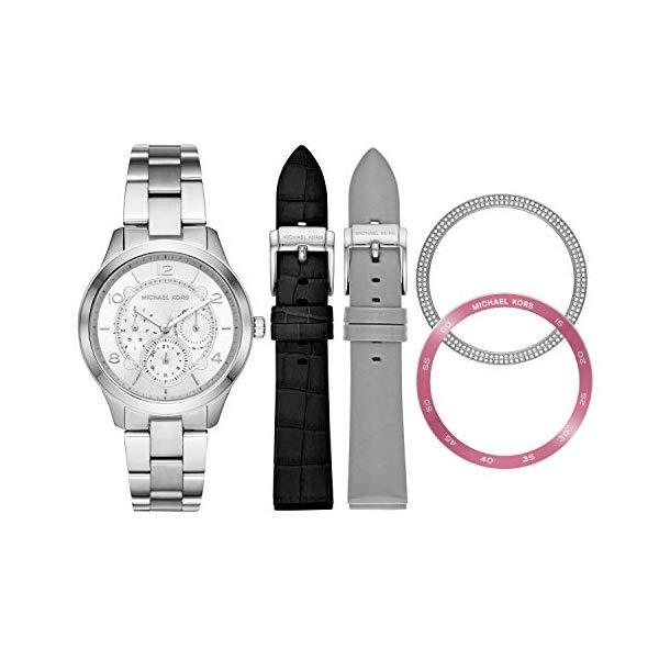 マイケルコース 時計 ウォッチ 腕時計 レディース 女性用 MK3981 Michael Kors Women's Runway Stainless Steel Watch Gift Set MK3981
