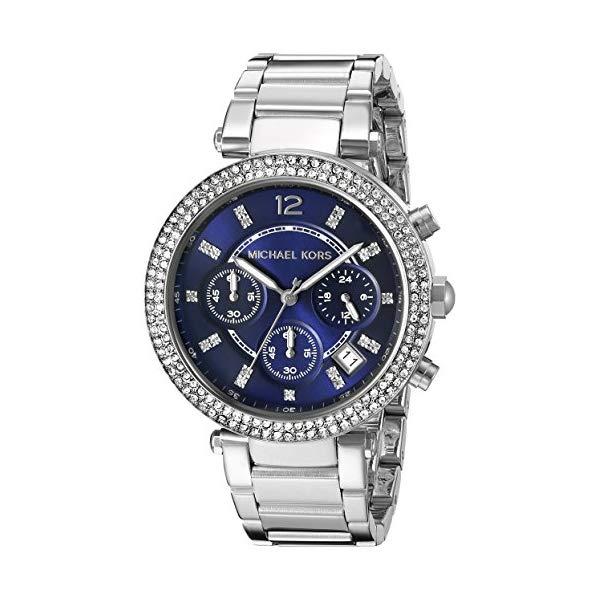 マイケルコース 時計 ウォッチ 腕時計 レディース 女性用 MK6117 Michael Kors Women's Parker Silver-Tone Watch MK6117