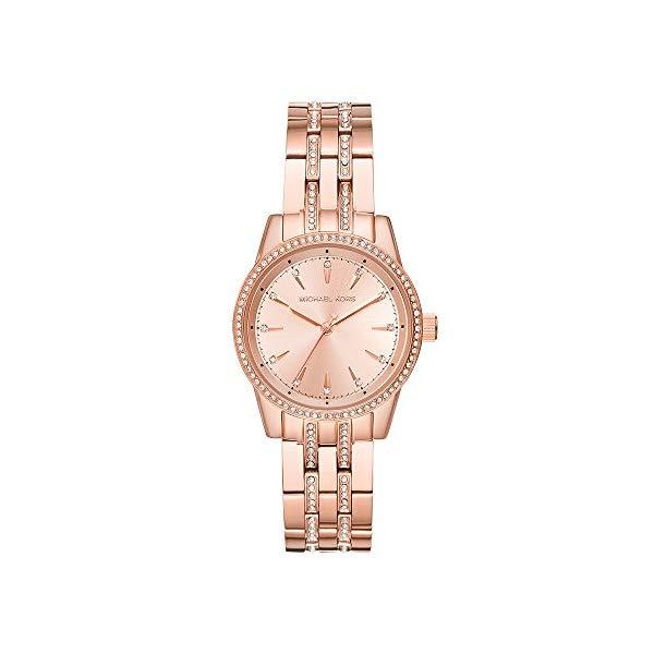 マイケルコース 時計 ウォッチ 腕時計 レディース 女性用 Michael Kors Watches Womens Mini Ritz Rose Gold-Tone Watch (Rose Gold)