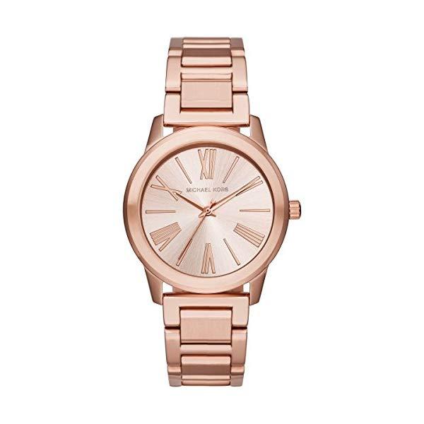 マイケルコース 時計 ウォッチ 腕時計 MK3491 Michael Kors MK3491 Ladies Hartman Rose Gold Steel Bracelet Watch