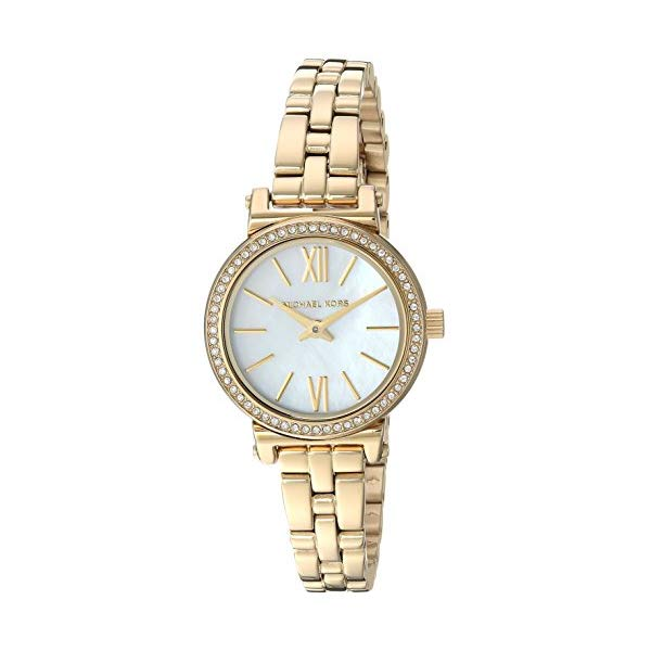 マイケルコース 時計 ウォッチ 腕時計 レディース 女性用 MK3833Michael Kors Women's Sofie Analog-Quartz Watch with Stainless-Steel Strap, Gold, 10 (Model: MK3833)