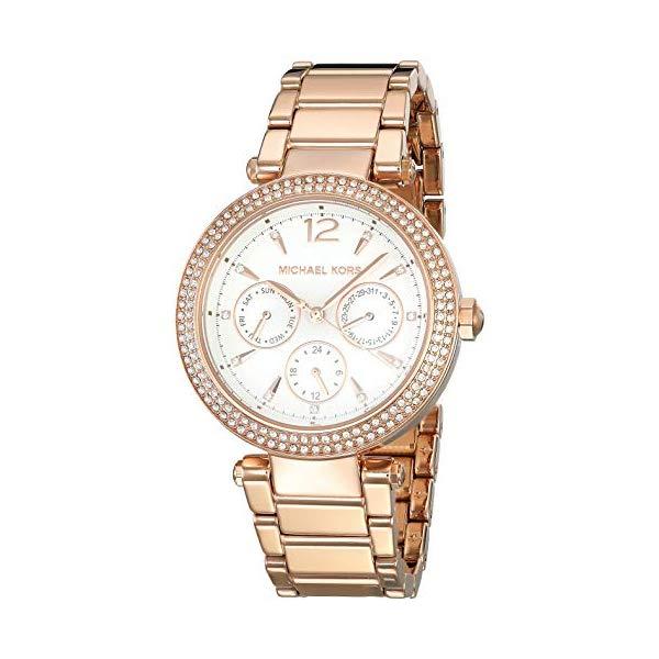 マイケルコース 時計 ウォッチ 腕時計 レディース 女性用 MK5781 Michael Kors Women's Parker Rose Gold Tone Stainless Steel Watch MK5781