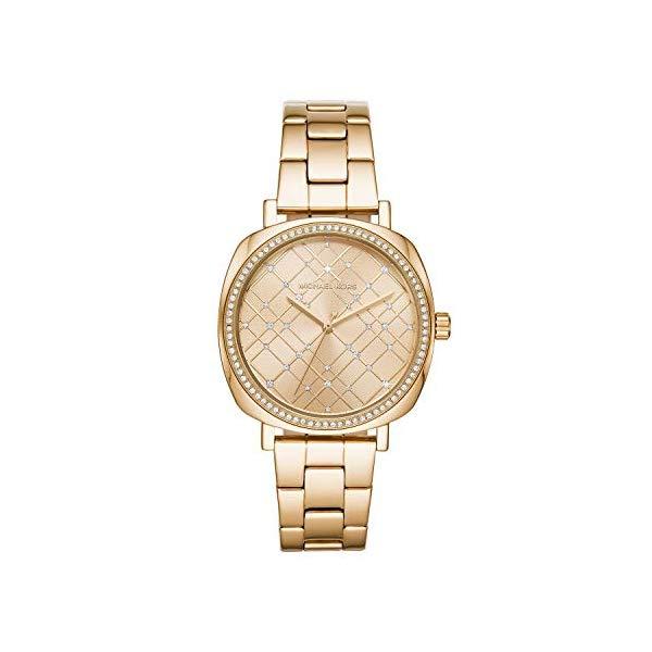 マイケルコース 時計 ウォッチ 腕時計 レディース 女性用 MK3990 Michael Kors Women's Nia Gold Tone Stainless Steel Watch MK3990
