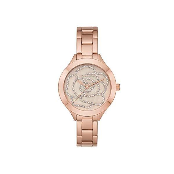 マイケルコース 時計 ウォッチ 腕時計 レディース 女性用 MK3992 Michael Kors Women's Slim Runway Rose Gold Tone Stainless Steel Watch MK3992