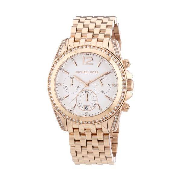 マイケルコース 時計 ウォッチ 腕時計 レディース 女性用 MK5836 Michael Kors Womens Pressley Chronograph Ladies Watch MK5836