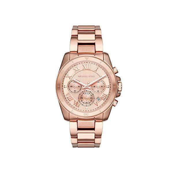 マイケルコース 時計 ウォッチ 腕時計 レディース 女性用 MK6367 Michael Kors Women's Brecken Rose Gold-Tone Watch MK6367