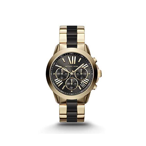 マイケルコース 時計 ウォッチ 腕時計 レディース 女性用 MK6501 Michael Kors Women's Bradshaw Two Tone Stainless Steel Watch MK6501