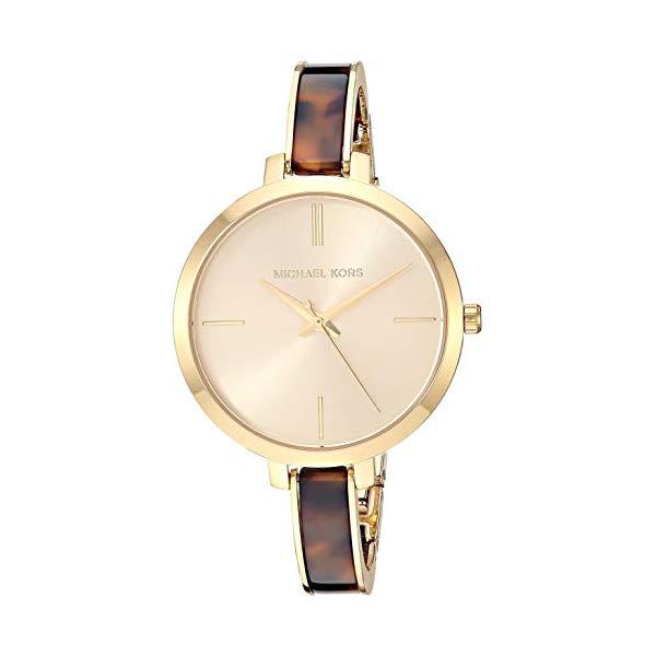 マイケルコース 時計 ウォッチ 腕時計 レディース 女性用 Michael Kors Women's Jaryn Quartz Watch with Stainless-Steel-Plated Strap, Gold/Multi, 8
