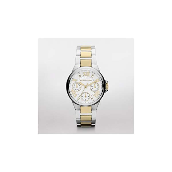 マイケルコース 時計 ウォッチ 腕時計 Michael Kors Camille Silver-Tone Multifunction Watch