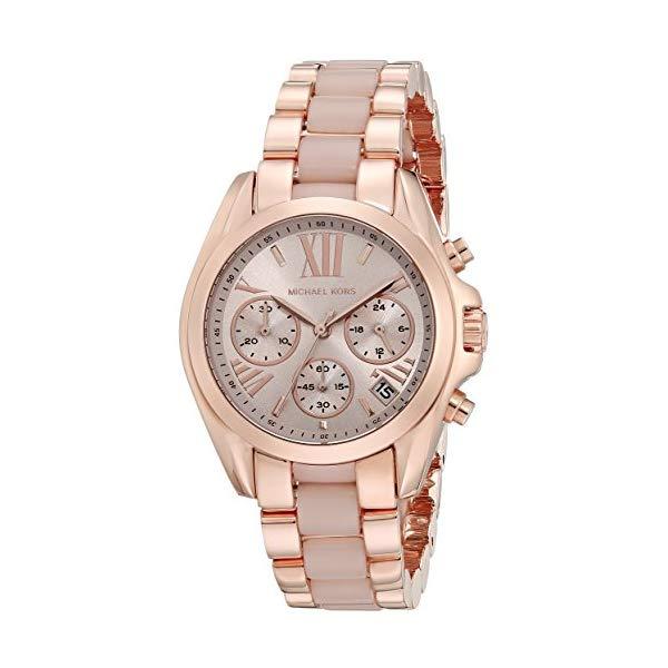 マイケルコース 時計 ウォッチ 腕時計 レディース 女性用 MK6066 Michael Kors Women's Bradshaw Rose Gold-Tone Watch MK6066