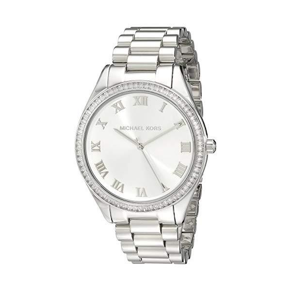 マイケルコース 時計 ウォッチ 腕時計 レディース 女性用 MK3243 Michael Kors Women's Blake MK3243 Silver Stainless-Steel Quartz Watch