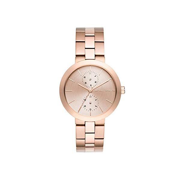 マイケルコース 時計 ウォッチ 腕時計 レディース 女性用 Michael Kors Women's Garner Rose Goldtone Multifunction Watch