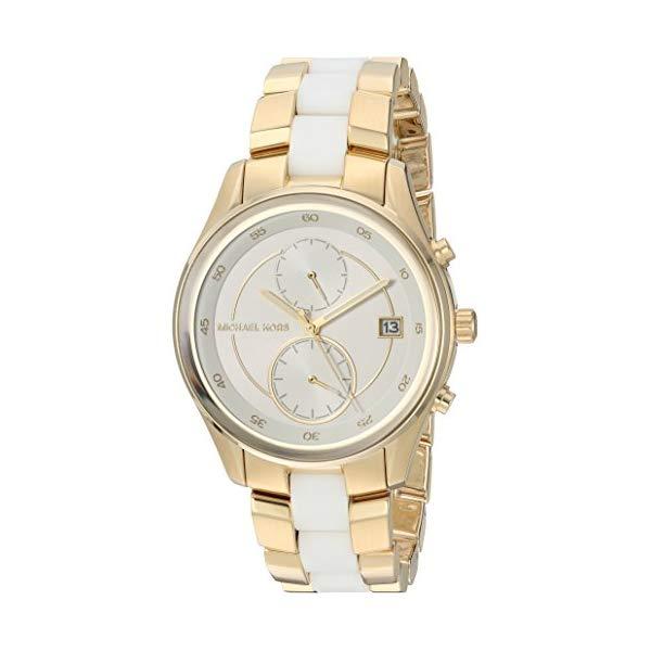 マイケルコース 時計 ウォッチ 腕時計 Michael Kors Briar Goldtone Multifunction Watch