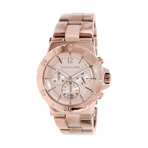 マイケルコース 時計 ウォッチ 腕時計 レディース 女性用 MK5314 Michael Kors Women's MK5314 Classic Rose Gold-Tone Stainless Steel Watch