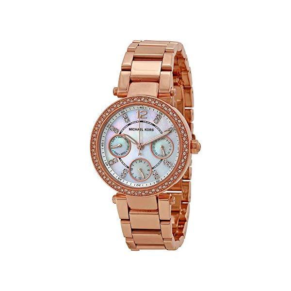 """マイケルコース 時計 ウォッチ 腕時計 レディース 女性用 MK5616 Michael Kors Women""""s Parker Rose Gold-Tone Watch MK5616"""