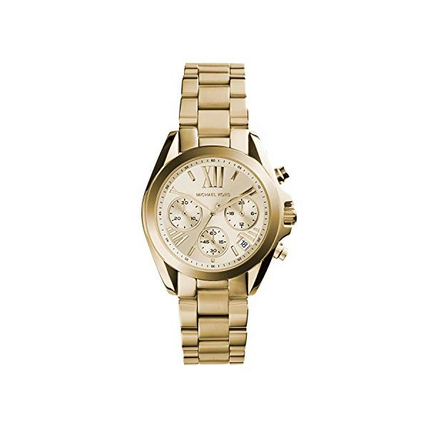 マイケルコース 時計 ウォッチ 腕時計 MK5798 Michael Kors Bradshaw Gold Dial Gold Tone Stainless Steel Ladies Watch MK5798