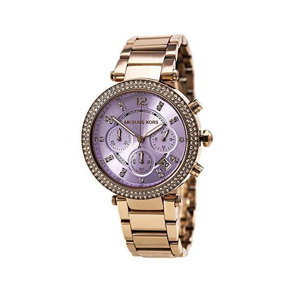 マイケルコース 時計 ウォッチ 腕時計 レディース 女性用 MK6169 Michael Kors Women's MK6169 Parker Rose Gold/Lilac