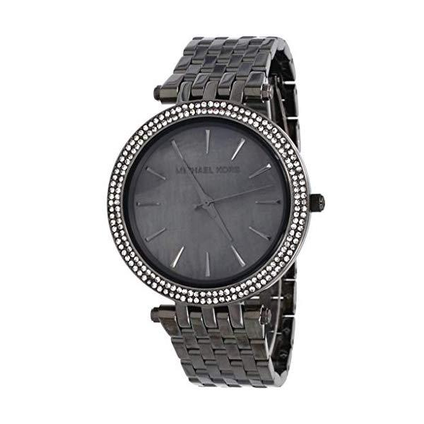 マイケルコース 時計 ウォッチ 腕時計 レディース 女性用 MK3433 Michael Kors MK3433 Women's Darci Gunmetal Stainless Steel Grey MOP Dial Analog Watch