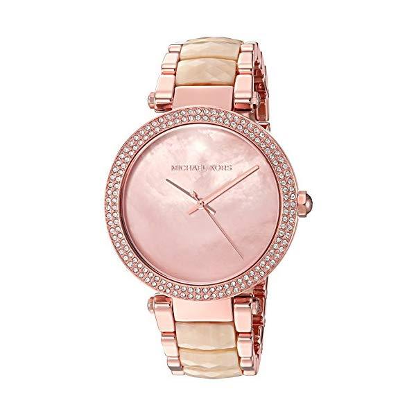 マイケルコース 時計 ウォッチ 腕時計 レディース 女性用 Michael Kors Women's Parker Acetate Three-Hand Watch