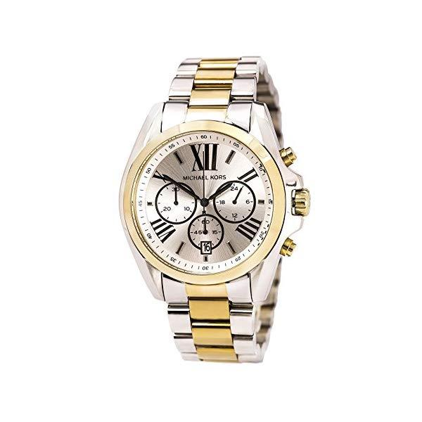 マイケルコース 時計 ウォッチ 腕時計 MK5855 Michael Kors Bradshaw MK5855 Gold/Silver Watch