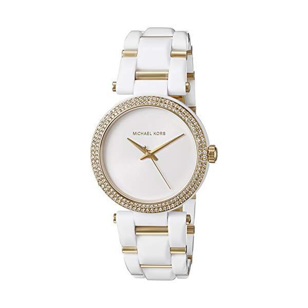 マイケルコース 時計 ウォッチ 腕時計 レディース 女性用 MK4315 Michael Kors Women's Delray White Watch MK4315