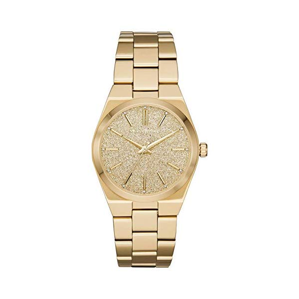 マイケルコース 時計 ウォッチ 腕時計 MK6623 Michael Kors MK6623 Yellow Gold Steel 316 L Woman Watch