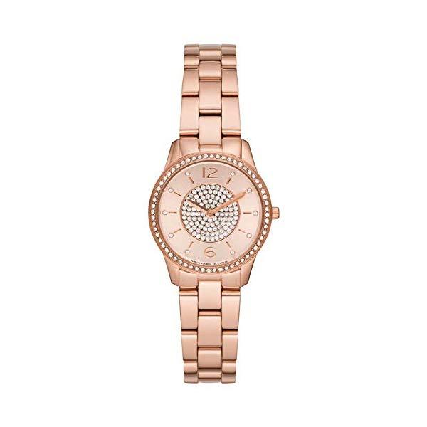 マイケルコース 時計 ウォッチ 腕時計 MK6619 Michael Kors MK6619 Rose Gold Steel 316 L Woman Watch