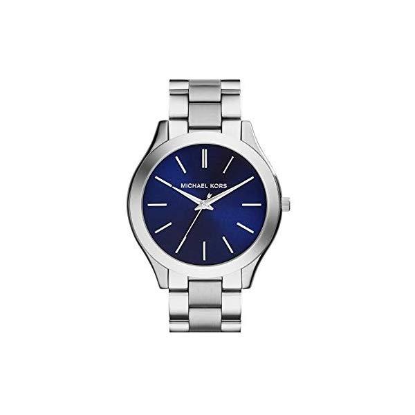 マイケルコース 時計 ウォッチ 腕時計 レディース 女性用 MK3379 Michael Kors MK3379 Slim Runway Silver Stainless Steel Bracelet Watch 42mm Women's Watch