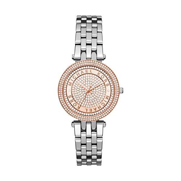 マイケルコース 時計 ウォッチ 腕時計 レディース 女性用 MK3446 Michael Kors Women's Mini Darci Silver-Tone Watch MK3446