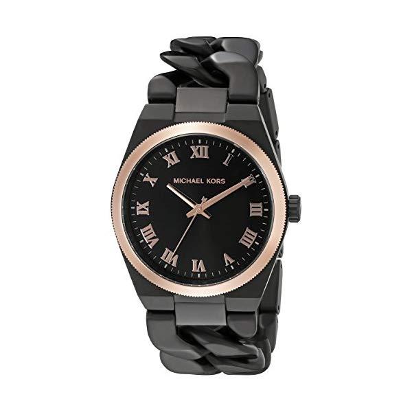 マイケルコース 時計 ウォッチ 腕時計 レディース 女性用 MK3415 Michael Kors Women's Channing Black Watch MK3415