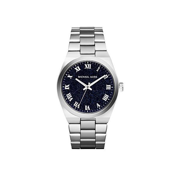 マイケルコース 時計 ウォッチ 腕時計 MK6113 Michael Kors Channing Midnight Blue Shimmer Dial Stainless Steel Ladies Watch MK6113