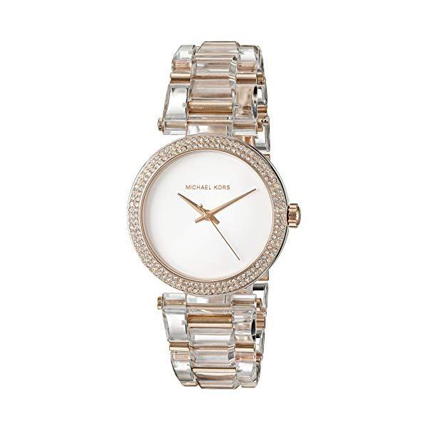マイケルコース 時計 ウォッチ 腕時計 レディース 女性用 MK4318 Michael Kors Women's Delray Rose Gold-Tone Watch MK4318