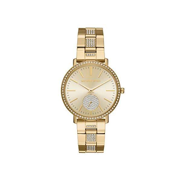 マイケルコース 時計 ウォッチ 腕時計 レディース 女性用 MK3811 Michael Kors Women's Jaryn Gold Tone Satinless Steel Watch MK3811