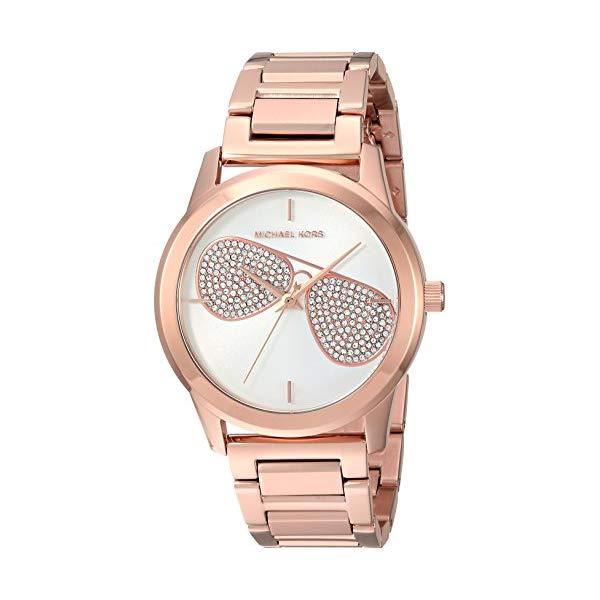 マイケルコース 時計 ウォッチ 腕時計 レディース 女性用 Michael Kors Women's Analog-Quartz Watch with Stainless-Steel Strap, Rose Gold, 19 (Model: MK3673)