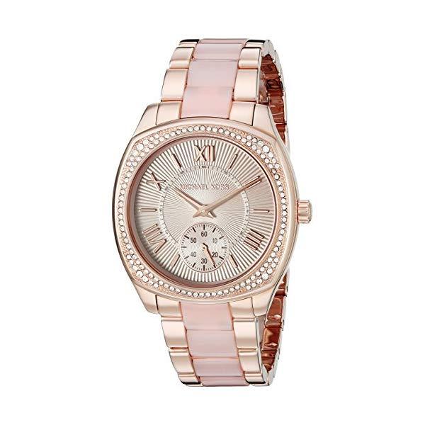 マイケルコース 時計 ウォッチ 腕時計 レディース 女性用 MK6135 Michael Kors Women's Bryn Rose Gold-Tone Watch MK6135