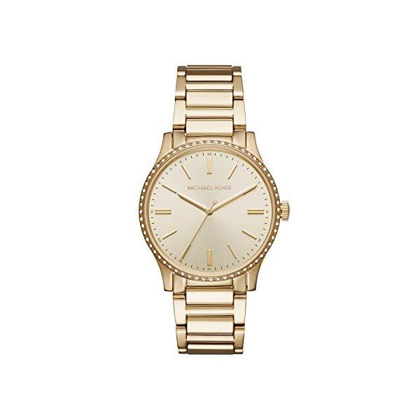 マイケルコース 時計 ウォッチ 腕時計 レディース 女性用 Michael Kors Women's Goldtone Round Face Bailey Watch