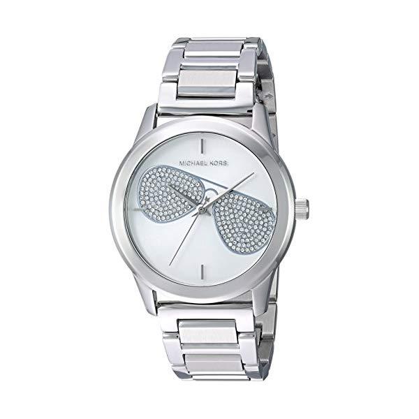 マイケルコース 時計 ウォッチ 腕時計 レディース 女性用 MK3672 Michael Kors Women's Analog-Quartz Watch with Stainless-Steel Strap, Silver, 20 (Model: MK3672)