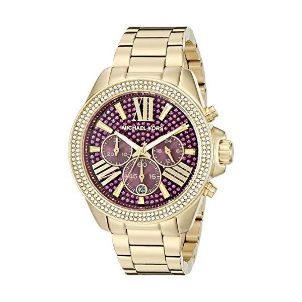 マイケルコース 時計 ウォッチ 腕時計 レディース 女性用 MK6290 Michael Kors Women's Wren Gold-Tone Watch MK6290