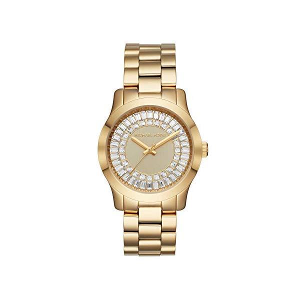 マイケルコース 時計 ウォッチ 腕時計 レディース 女性用 MK6532 Michael Kors Women's Runway Gold Tone Stainless Steel Watch MK6532
