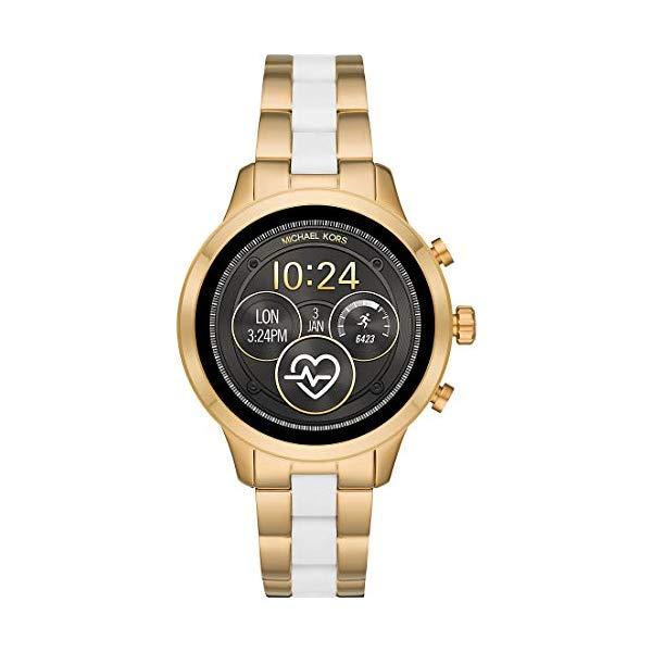 マイケルコース 時計 スマートウォッチ 腕時計 MKT5057 Michael Kors MKT5057 White Steel 316 L Woman Watch