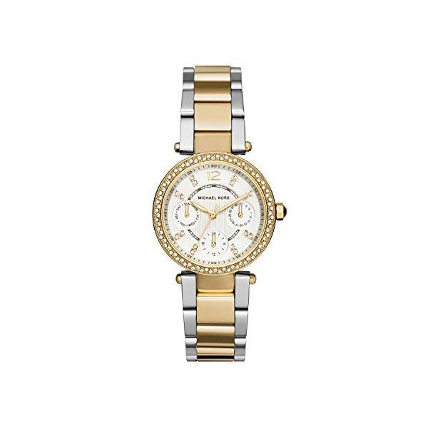 マイケルコース 時計 ウォッチ 腕時計 レディース 女性用 MK6055 Michael Kors Women's Parker Two-Tone Watch MK6055
