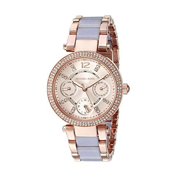 マイケルコース 時計 ウォッチ 腕時計 レディース 女性用 MK6327 Michael Kors Women's Mini Parker Rose Gold-Tone Watch MK6327