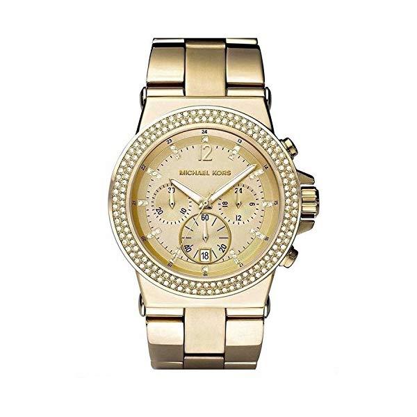 マイケルコース Michael 時計 ウォッチ 腕時計 Oversized レディース 女性用 Gold MK5386 Michael Kors Womens MK5386 Dylan Gold Tone Oversized Chronograph Watch, あったらいーな本舗:96c5a2ed --- ww.thecollagist.com